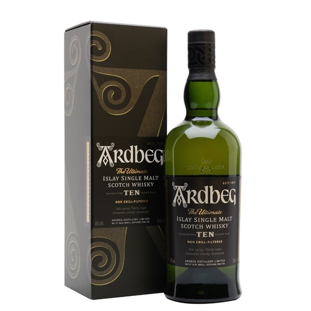 Ardbeg 10YO single malt 0.70