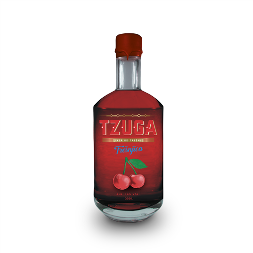 TZUGA Trešnjica 750ml 16% vol