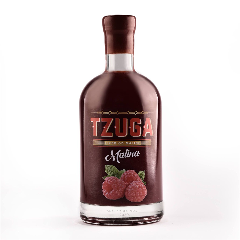 TZUGA Malina 750ml 17% vol.