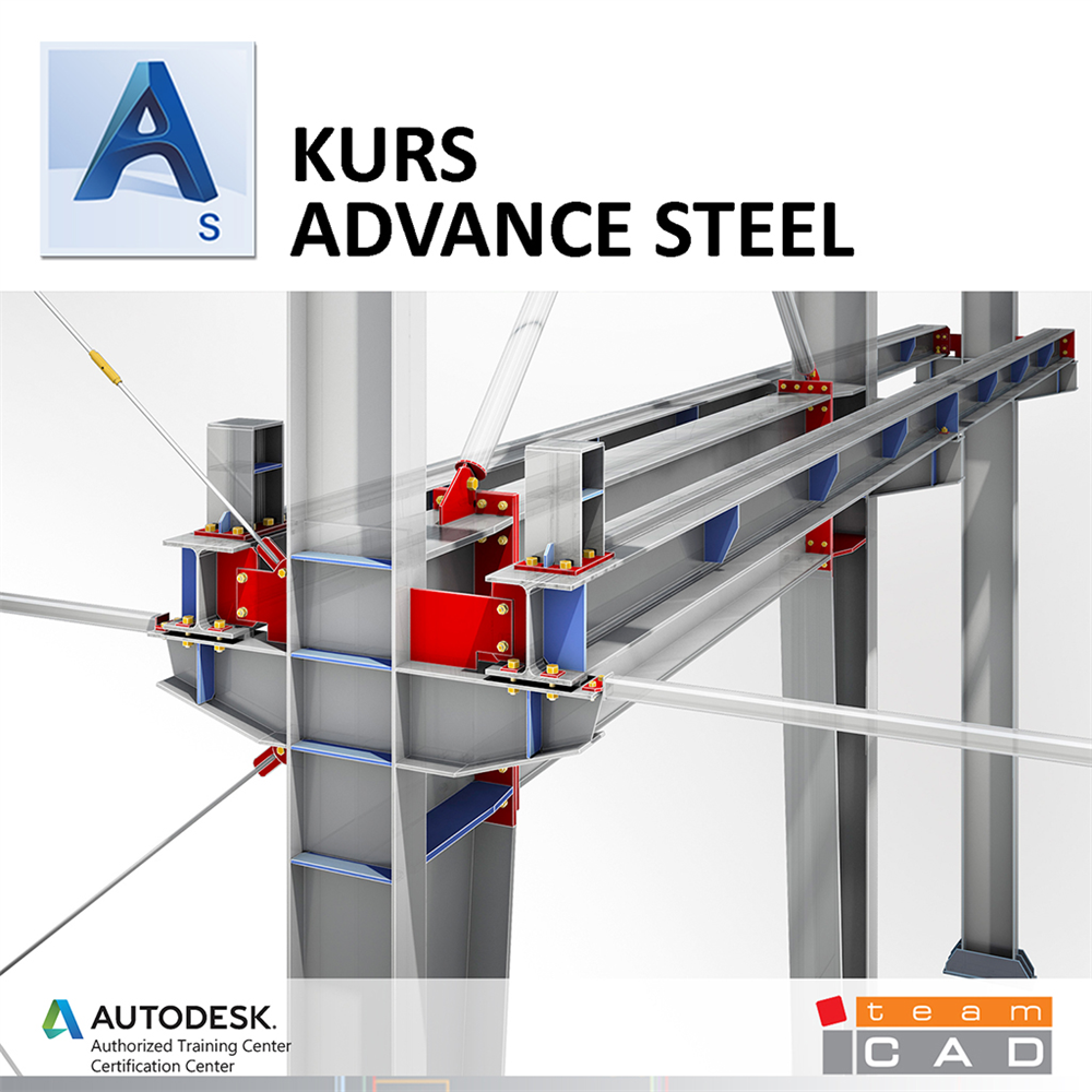 Kurs Advance Steel osnovni nivo - Online pohađanje