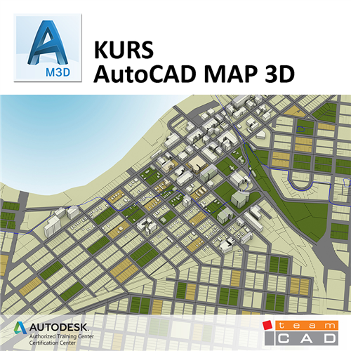 Kurs AutoCAD MAP3D osnovni nivo - Online pohađanje