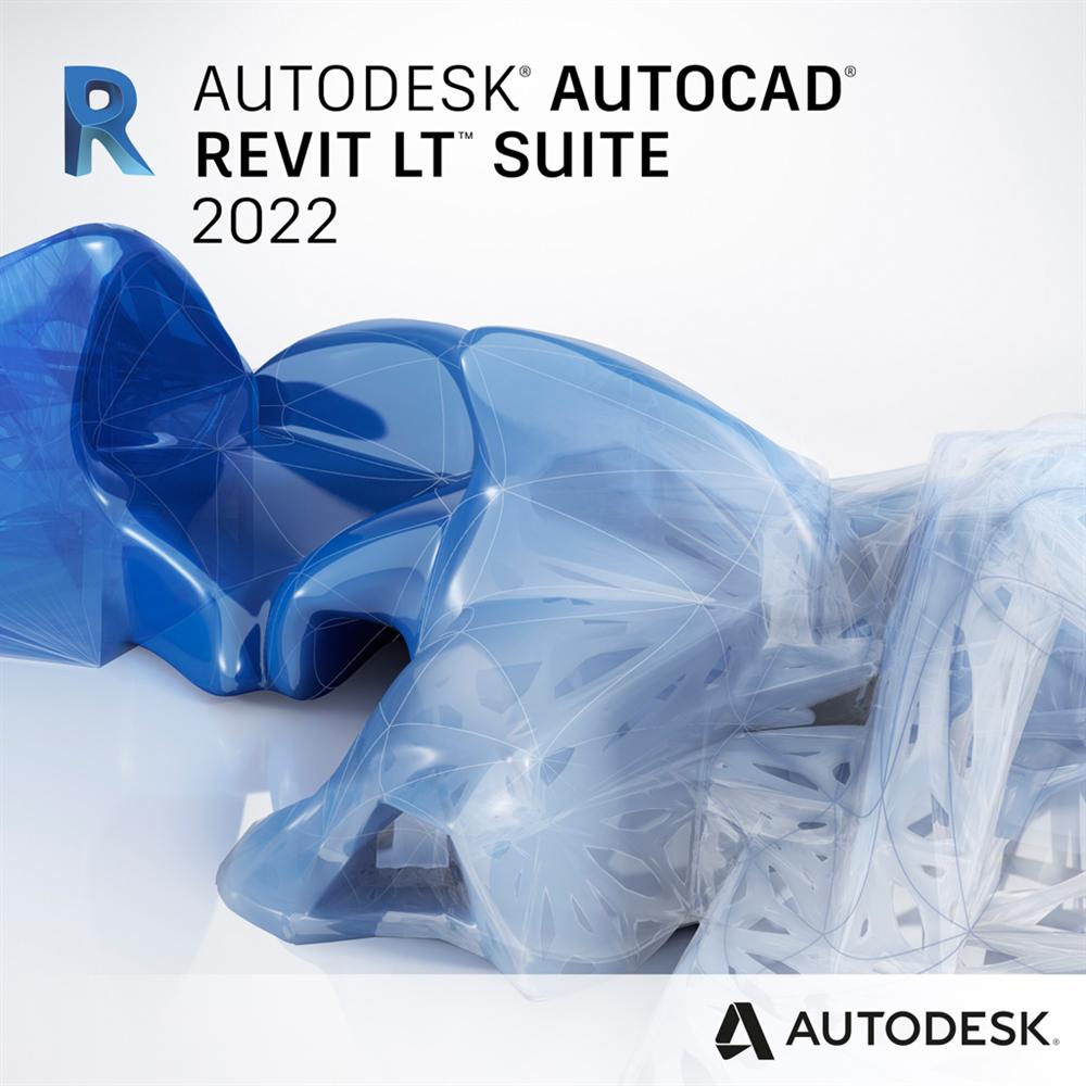 AutoCAD Revit LT Suite 2022 Commercial New Single-user ELD Annual Subscription