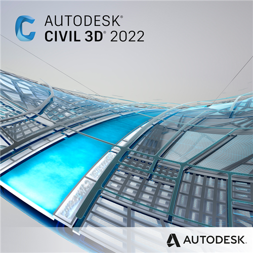 Civil 3D 2022 Commercial New Single-user ELD 3-Year Subscription