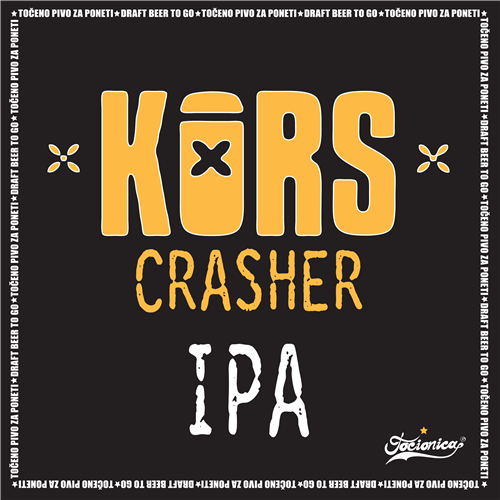 KORS Crasher NE IPA 1l