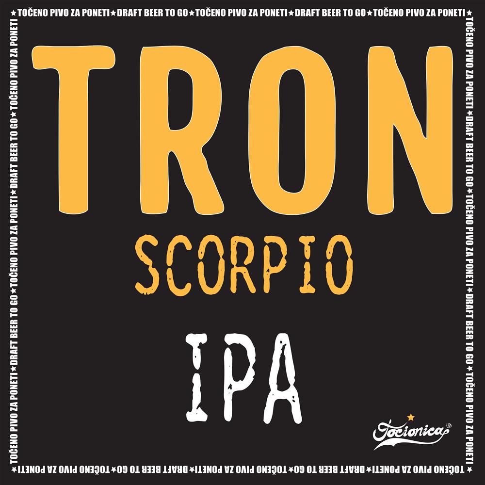 TRON Scorpio IPA 1l