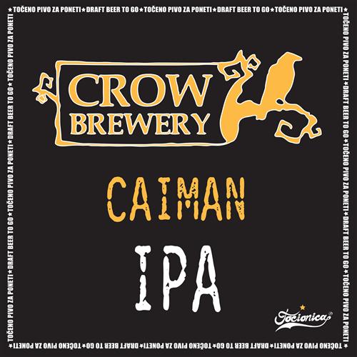 CROW Caiman IPA 1l