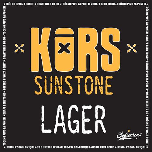 KORS Sunstone Lager 1l