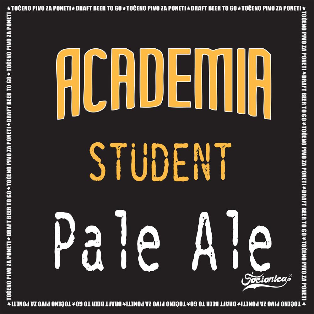 ACADEMIA Student Pale Ale 1l