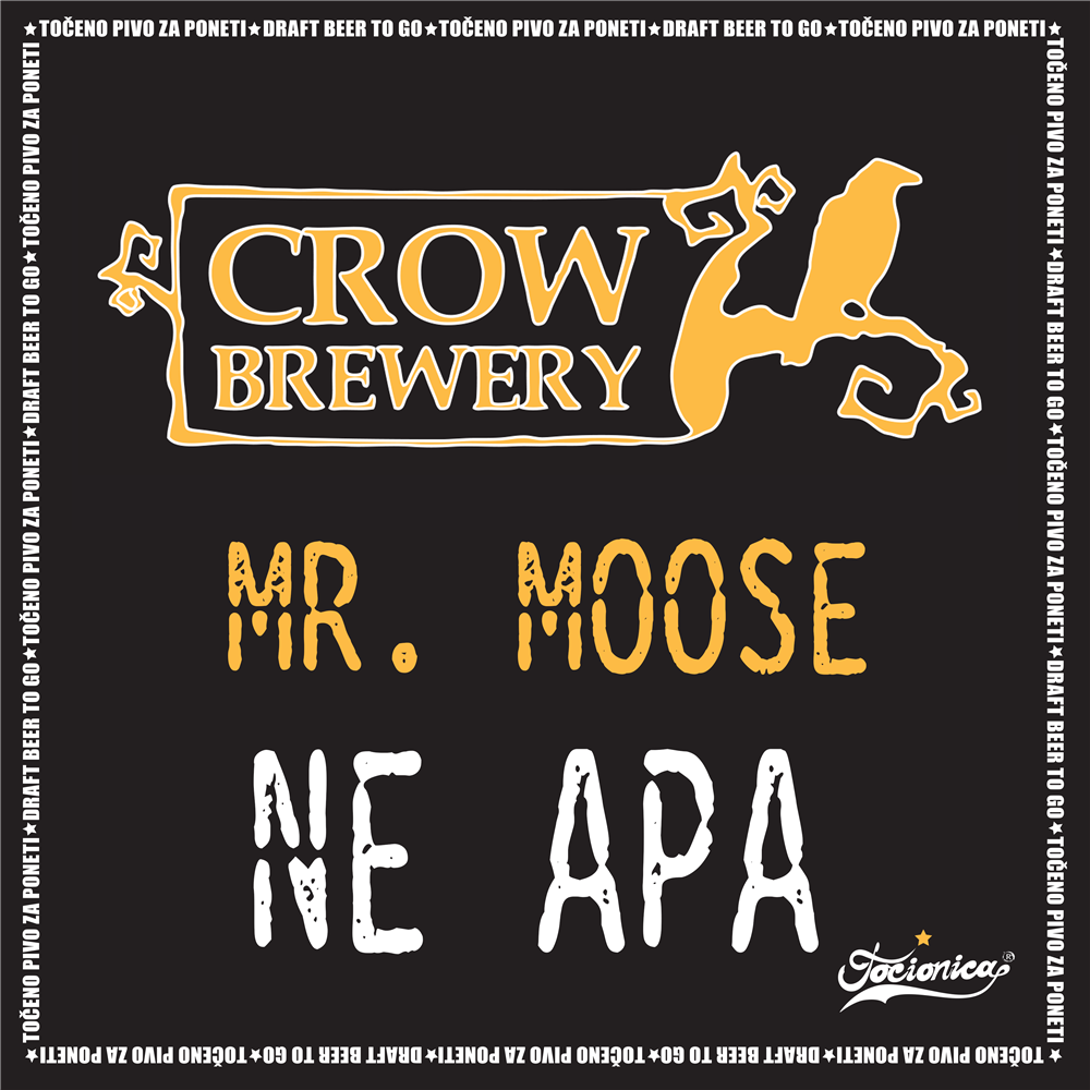 Crow Mr.Moose