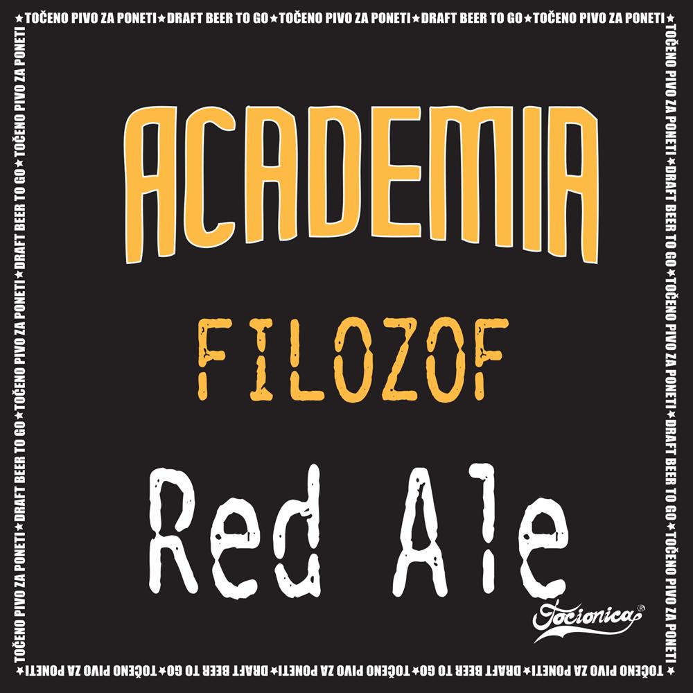 Academia Filozof Red ale