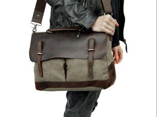 Muška kožna torba Olimp