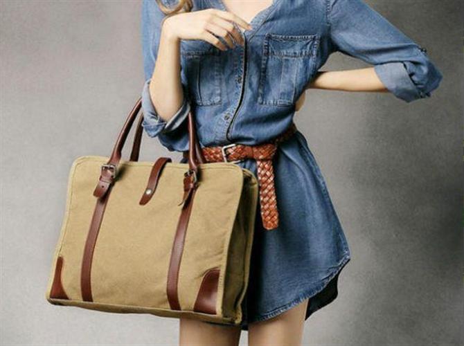 Ženska platnena torba Ema