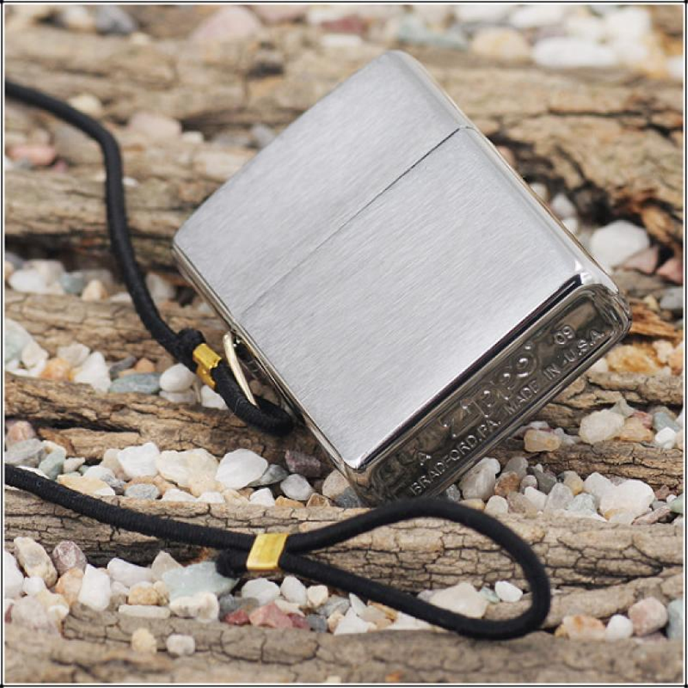 Zippo Brushed Chrome Lossprof