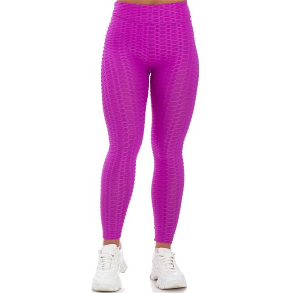 Sportske Ženske Push-Up Helanke - Light Purple