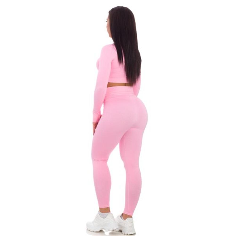 Sportski Ženski Komplet Helanke i Top - Cotton Candy