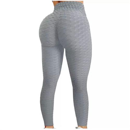 Sportske Ženske Push-Up Helanke - Active Grey