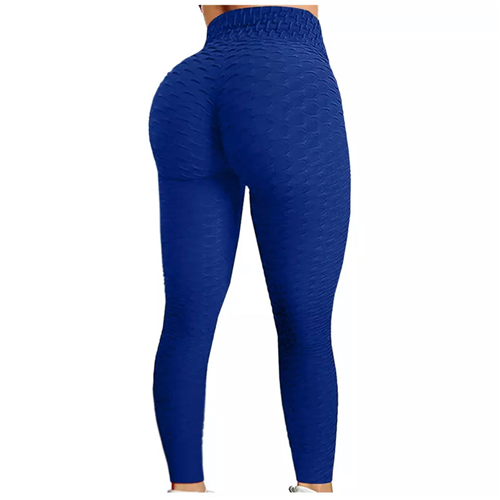 Sportske Ženske Push-Up Helanke - Royal Blue