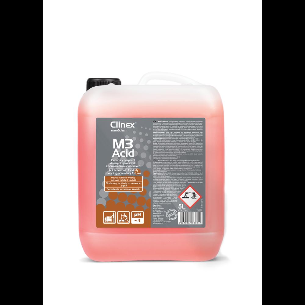 Clnex M3 Acid - 5 lit reffil