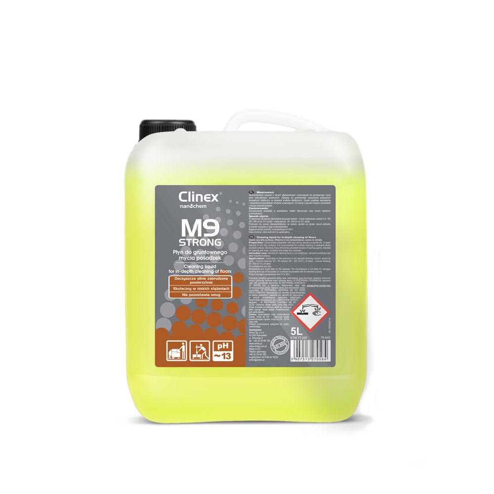 Clinex M9 Strong - 5 lit reffil