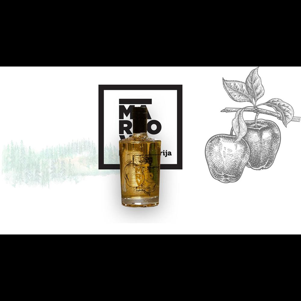 Markova rakija, jabuka, 1 lit