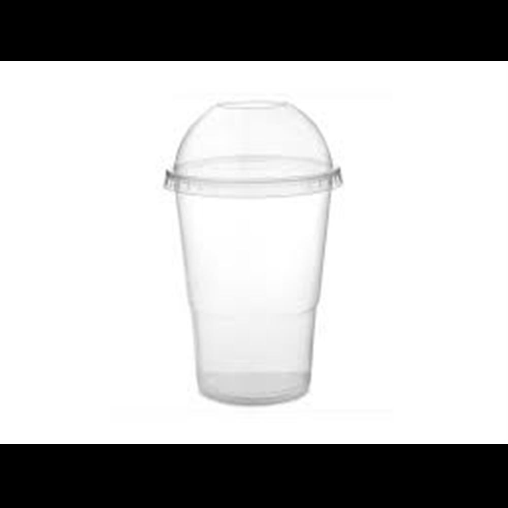 Plastična čaša 300 ml sa poklopcem