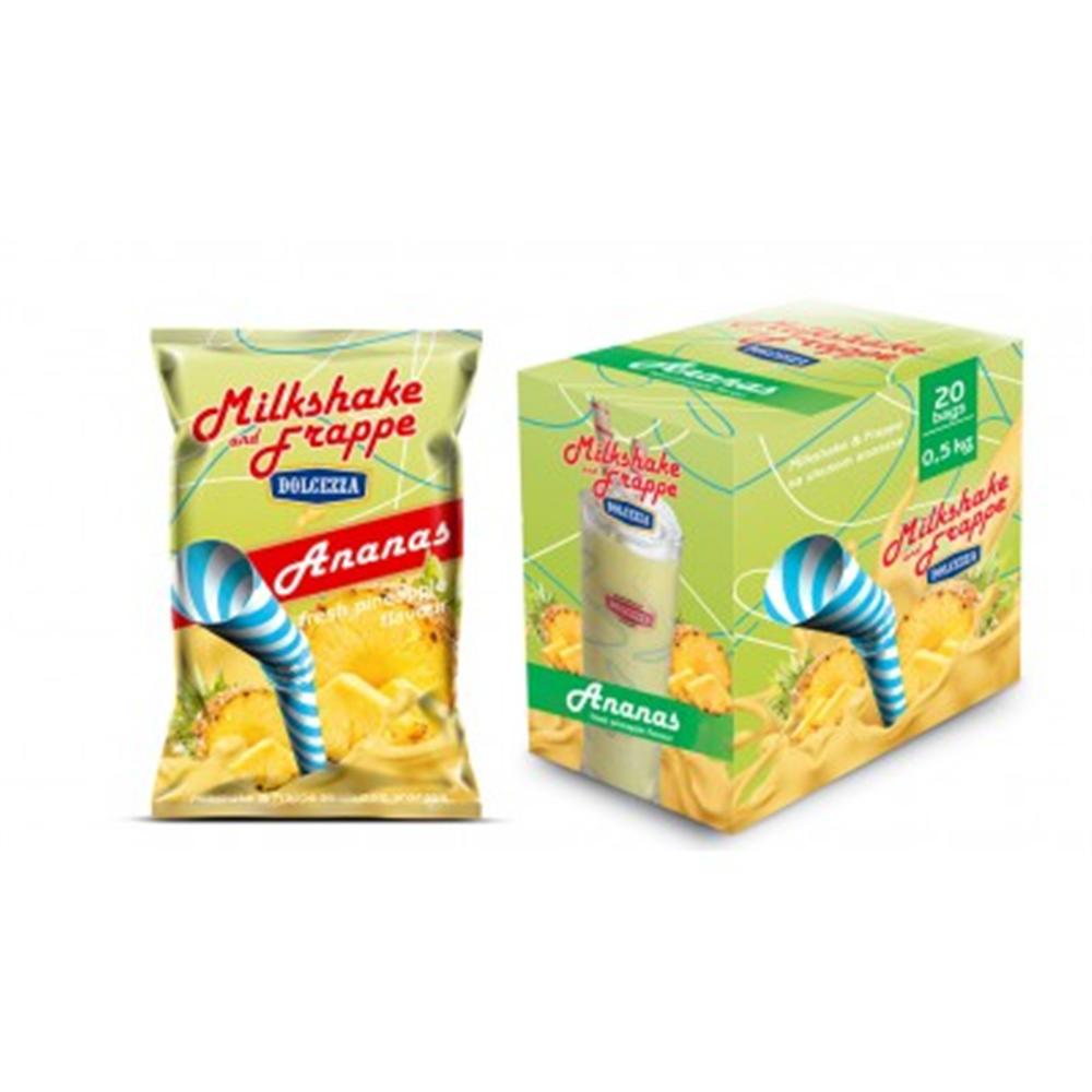 Dolcezza milkshake&frappe, aroma ananas