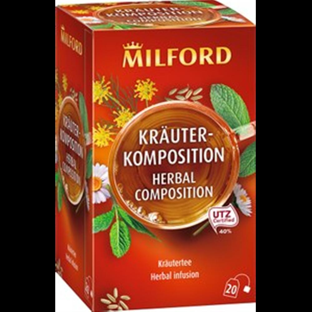 Milford čaj, nana
